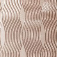 See more information about the Foil Wave Rose Gold Wallpaper