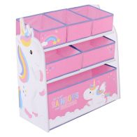 See more information about the Unicorn Wooden Storage Rack With 6 Drawers