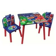 See more information about the PJ Masks Kids Table & 2 Chairs Set