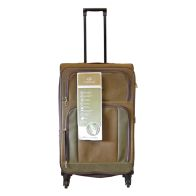 See more information about the Compass Luggage 29 Inch Trolley Brown & Green Suitcase