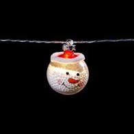 See more information about the 10 LED White Indoor Snowman String Lights Battery 1.35m