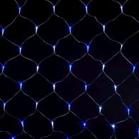 See more information about the 120 LED Blue & White Animated Curtain Light Mains 2 x 1m