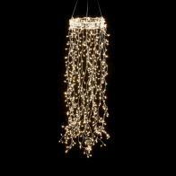 See more information about the 640 LED Warm White 20cm Ring Cascading Light 16 Strings Mains