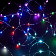 See more information about the 100 LED Multicolour Remote Control Animated String Lights Mains 10m