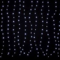 See more information about the 198 LED Cool White Animated Curtain Light Mains 150 x 180cm
