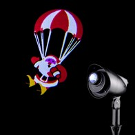See more information about the Santa Parachute Projector LED 31cm