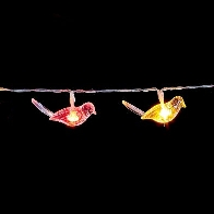See more information about the Bird Light Chain Red & Yellow LED 30 Bulbs 2.9m