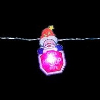 See more information about the 10 LED Indoor Santa Stop Here Lights Static Battery 1.35m