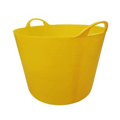 40L Flexi Tub Yellow