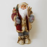 See more information about the 12inch Standing Santa Decoration
