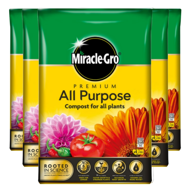 Miracle-Gro All Purpose Premium Compost 1500 Litre