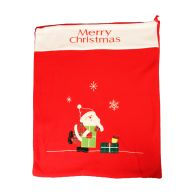 See more information about the Red Fleece Merry Christmas Santa Sack
