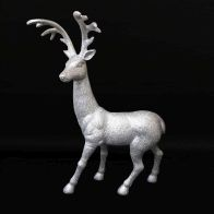See more information about the Glitter Standing Reindeer - 18 inch