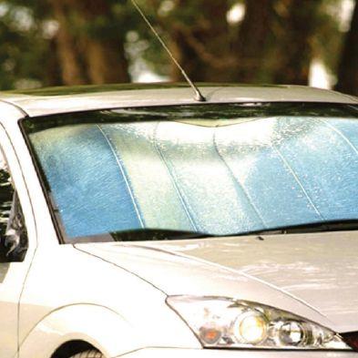 Folding Aluminium Windscreen Sunshade