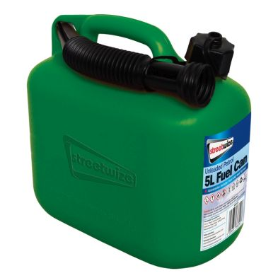 5L Green Fuel Can for Unleaded Petrol