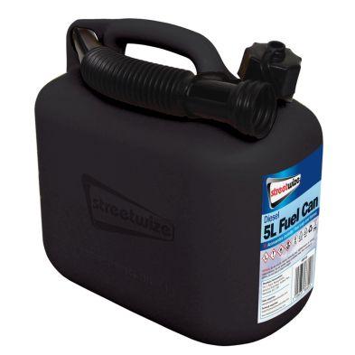 5L Black Fuel Can for Diesel