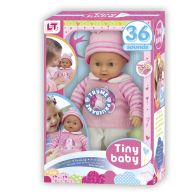 See more information about the Tiny Baby Toy Doll with 36 Sounds