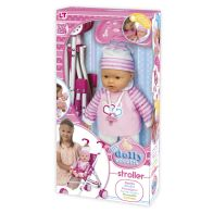 See more information about the My Dolly Sucette Toy Doll Take a Stroll Set