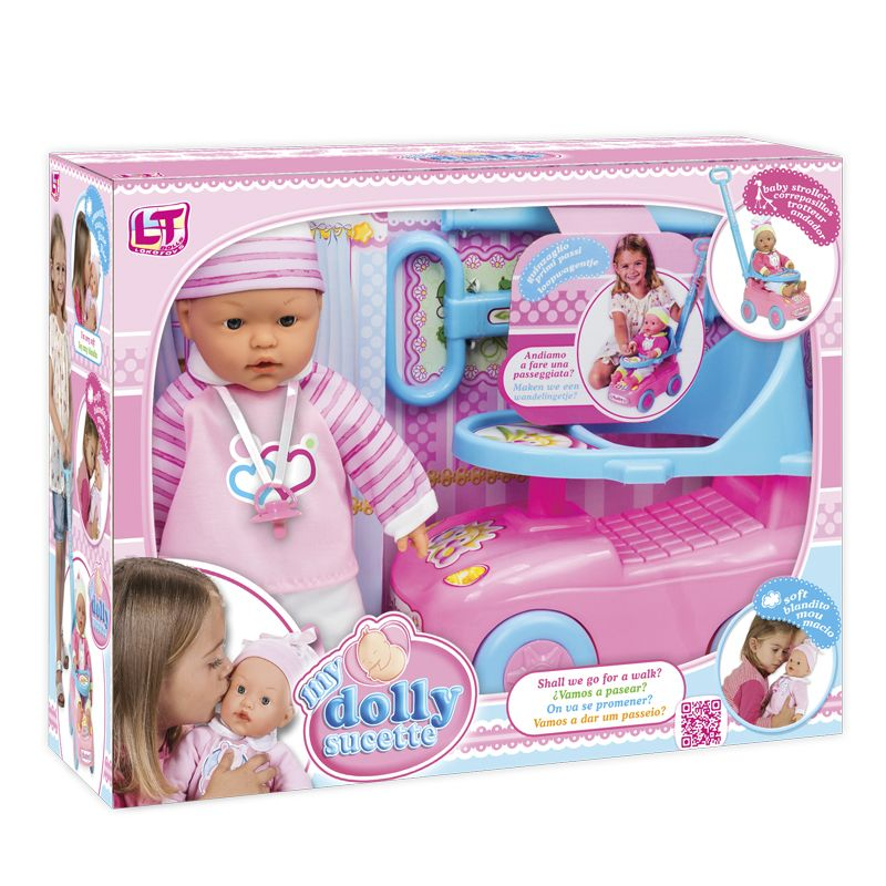 My Dolly Sucette Toy Doll First Steps Set