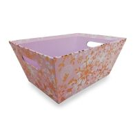 See more information about the Small Pink Snowflakes Hamper Tray
