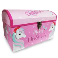 See more information about the Small Christmas Eve Unicorn Toy Chest