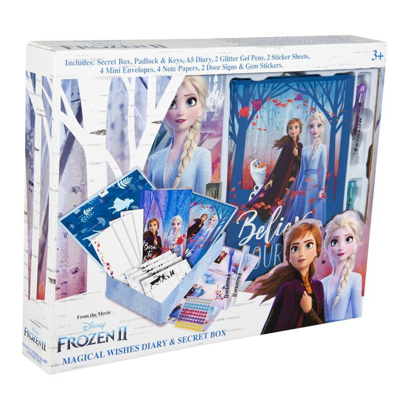Disney Frozen 2 Magical Wishes Diary & Secret Box
