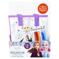See more information about the Disney Frozen 2 Colour Your Own Totebag - Anna