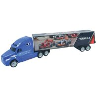 See more information about the Team Power Blue F1 Truck Toy 39cm