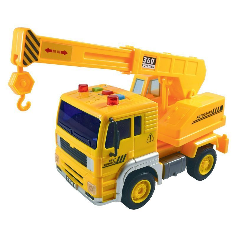 Team Power Worker Trucks Yellow 19cm