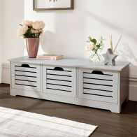 See more information about the Bergen 3 Door Low Storage Unit Grey