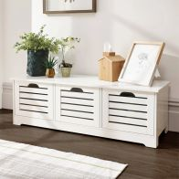 See more information about the Bergen 3 Door Low Storage Unit White
