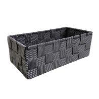See more information about the Black & White Medium Storage Basket