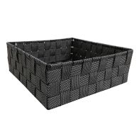 See more information about the Black & White Large Storage Basket
