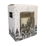 See more information about the Baltus 30 Hour Candle - Midnight Frost Silver