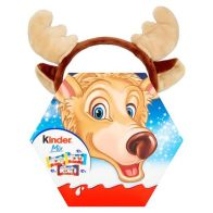 See more information about the Kinder Reindeer Headband Treat Box 167g