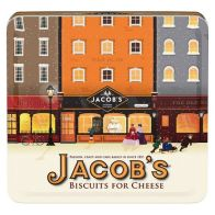 See more information about the Jacobs Biscuits For Cheese Heritage Tin 300g