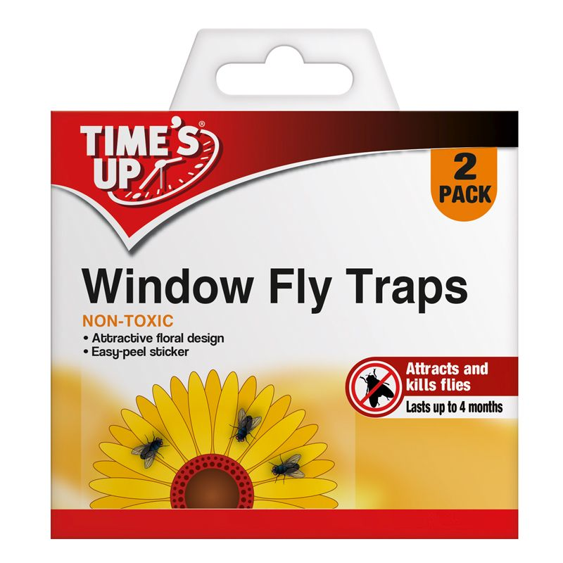 Time's Up Window Fly Traps 2 Pack