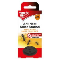 See more information about the Time's Up Ant Nest Killer Station 2 Pack