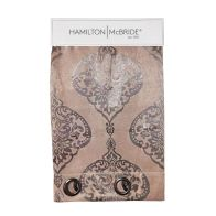 See more information about the Hamilton McBride Damask Panel Curtains Brown 54 x 90cm