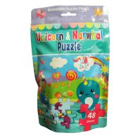 See more information about the Unicorn & Narwhal Puzzle Bag