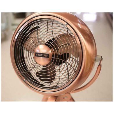 Image of 8 Inch Copper Tripod Fan
