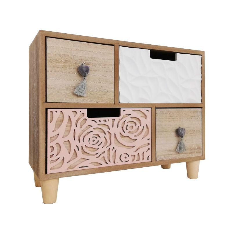 Bloom Desktop Storage Drawers, Desktop Drawers Wood