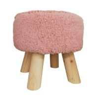 See more information about the Bloom Foot Stool Pink