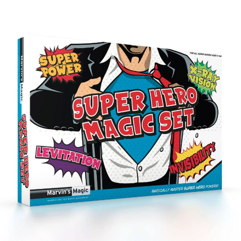 Super Hero Magic Set Super Power