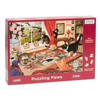 See more information about the House Of Puzzles Jigsaw Puzzling Paws 1000 Pieces