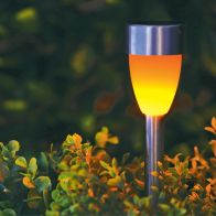 See more information about the Bright Garden Solar Powered Flickering Path Light