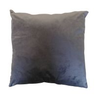 See more information about the Hamilton McBride Velvet Cushion 55 x 55cm Charcoal