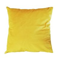 See more information about the Hamilton McBride Velvet Cushion 55 x 55cm Ochre Yellow