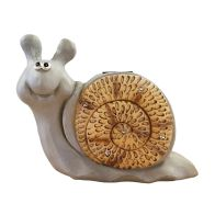 See more information about the Wooden Effect Solar Powered Snail Light