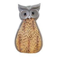 See more information about the Wooden Effect Solar Powered Owl Light